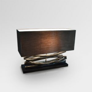 Twilight Table Lamp Black