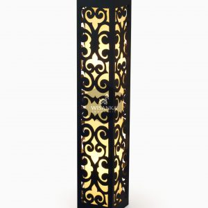 Dayak Floor Lamp Black Light On | Dayak Orange Light | Dayak Floor Lamp Orange | Dayak Floor Lamp IP44 | Floor Lamp Orange | Warmwhite Floor Lamp