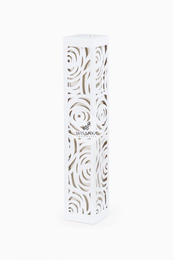 Floruz Floor Lamp White off | White Floor Lamp | Resin Floor Lamp