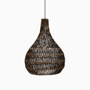 Banda Tria Wicker Rattan Hanging Lamp Off