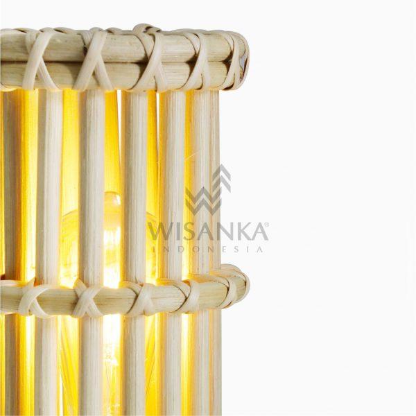 Cila Rattan Table Lamp detail