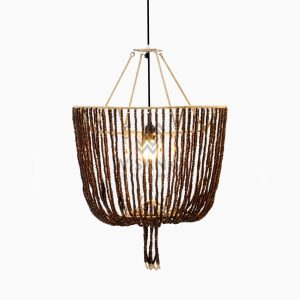Kayana Dripping Coconut Shell Pendant Hanging Lamp On