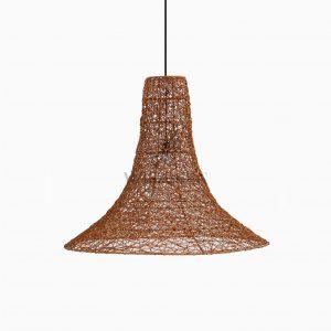 Laguna Wicker Hanging Lamp Off Large - Random Weaving