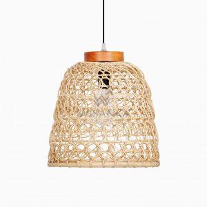 Meysa Rattan Decor Hanging Lamp Off