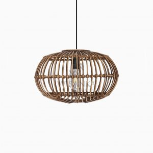 Somerset Hanging Lamp Off Small Brown Wash